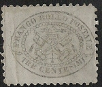 Stamps Europe - Italy -  Papal Arms