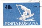 Sellos de Europa - Rumania -  kayak