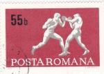 Stamps Romania -  boxeo