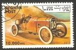 Stamps Afghanistan -  Automóvil