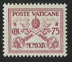Stamps Vatican City -  Papal Arms