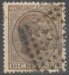 Sellos de Europa - España -  ESPAÑA 192 ALFONSO XII