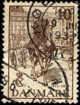 Sellos de Europa - Dinamarca -  Jubileo del rey Christian X. 1937. 10 ores