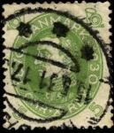 Sellos de Europa - Dinamarca -  Conmemoración 60 años del rey Christian X 1930 5 ores