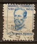 Sellos de America - Brasil -  Floriano Vieira de Araújo Peixoto. Mariscal y político.