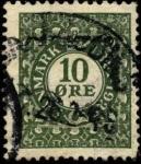 Sellos de Europa - Dinamarca -  75 aniversario del timbre postal. 1926. 10 ores
