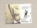 Stamps Portugal -  150 Aniv del nacimiento de Trinidade Coelho