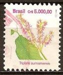 Sellos del Mundo : America : Brasil : Flores.