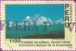 Sellos de America - Perú -  Parque Nacional El Huascarán, Patrimonio Natural de la Humanidad. El Huascarán.