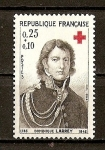 Stamps France -  Cruz Roja.