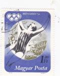 Sellos de Europa - Hungría -  munich-72  natación