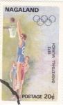 Sellos de Asia - Nagaland -  munich-72  - basket