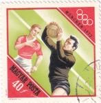 Sellos de Europa - Hungría -  munich-72  - futbol