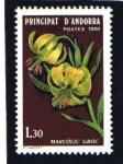 Stamps : Europe : Andorra :  Flora del Valle de Andorra