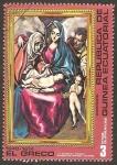 Sellos de Africa - Guinea Ecuatorial -  El Greco