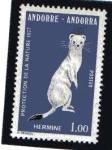 Stamps : Europe : Andorra :  Protección de la natura