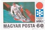 Stamps Hungary -  J.J.O.O. -SAPPORO -72   - esquí