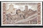 Stamps : Europe : Andorra :  Inaguración del Santuario de Notre-Dame de Méritxell