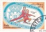 Stamps : Asia : Afghanistan :  J.J.O.O. - SARAJEVO -84  - Patinaje artístico