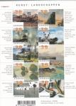 Sellos del Mundo : Europa : Holanda : Pinturas en museos holandeses
