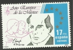 Stamps Spain -  Victoria