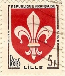 Stamps France -  Lille