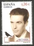 Sellos de Europa - España -  Paco Rabal, actor de cine