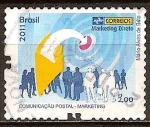 Sellos del Mundo : America : Brasil : Tarjetas de comunicación - Marketing Directo