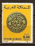 Sellos del Mundo : Africa : Marruecos : Monedas de Marruecos.(Moneda de Fez de 1883/4).