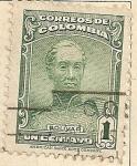 Sellos de America - Colombia -  Bolivar