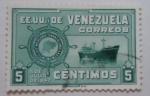 Stamps of the world : Venezuela :  FLOTA MERCANTE GRANCOLOMBIANA 5 DE JULIO DE 1947
