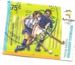 Stamps Argentina -  hockey sobre cesped