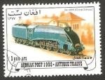 Sellos del Mundo : Africa : Afganistán : Tren antiguo de Gran Bretaña
