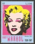 Sellos del Mundo : Europa : Francia : 3628 - Marilyn Monroe, de Andy Warhol