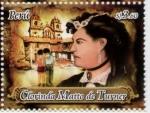 Stamps America - Peru -  Clorinda Matto de Turner Escritora