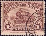 Sellos del Mundo : America : Ecuador : 1908 Inauguración del Ferrocarril Guayaquil-Quito