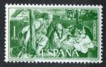 Stamps Spain -  1692- Navidad  1965.