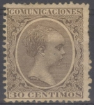 Stamps Spain -  ESPAÑA 222 ALFONSO XIII