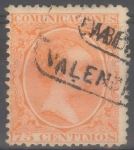 Stamps Spain -  ESPAÑA 225 ALFONSO XIII