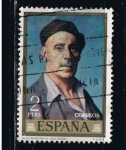 Stamps Spain -  Edifil  2022  Día del Sello,  Ignacio Zuloaga.