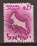 Sellos del Mundo : Asia : Israel : Signos del zodíaco(Capricornio)