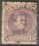 Stamps Spain -  245 ALFONSO XIII