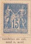 Stamps France -  Republica Ed 1878