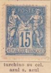 Sellos de Europa - Francia -  Republica Ed 1878
