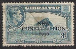 Stamps Gibraltar -  New Constitution 1950