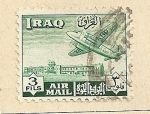 Stamps Asia - Iraq -  Avión