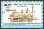 Stamps Togo -  locomotora