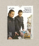 Stamps Portugal -  100 aniv Instituto de alumnos del ejército