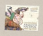 Stamps Portugal -  100 aniv. Archivo Nacional