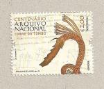 Sellos de Europa - Portugal -  100 aniv. Archivo Nacional